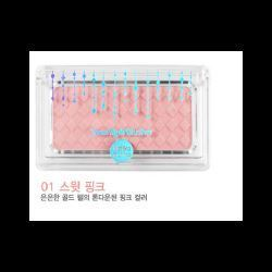 Holika Holika Jewel-Light Blusher 01 Sweet Pink