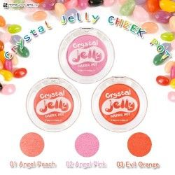 COLORETE - CRYSTAL JELLY CHEEK POT 03 EVIL ORANGE