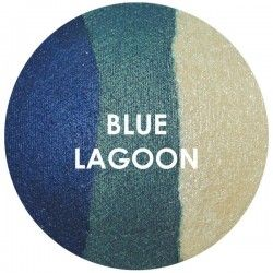 BAKED EYE SHADOW - TRIOS - BLUE LAGOON