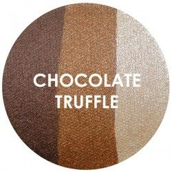BAKED EYE SHADOW - TRIOS - CHOCOLATE TRUFFLE