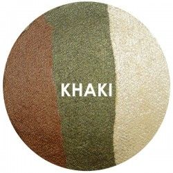 BAKED EYE SHADOW - TRIOS - KHAKI