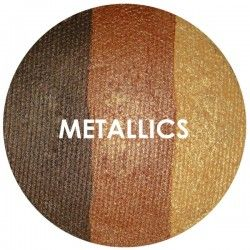 BAKED EYE SHADOW - TRIOS - METALLICS