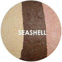 BAKED EYE SHADOW - TRIOS - SEA SHELL