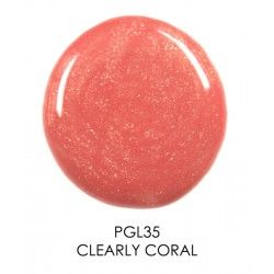 HERBAL LIP GLOSS - CLEARLY CORAL